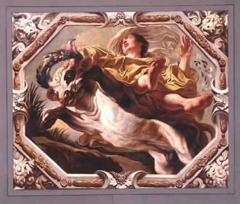 """Taurus"" by Jacob Jordaens"