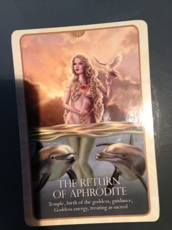 """From the """"Oracle of Mermaids"""" (Blue Angel Publishing)"""