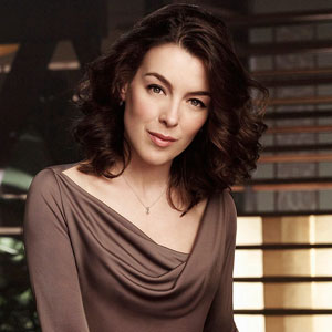 Adele DeWitt (aka Olivia Williams) from Joss Whedon's Dollhouse