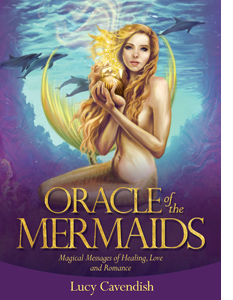 Yay for the Oracle of Mermaids - the mermaid on the cover may be slim, but she has a tummy!
